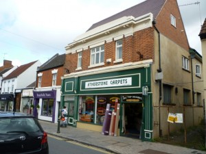 Former Woolworths, Atherstone (24 Aug 2010). Photograph by Graham Soult