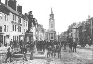 Marygate before the current Woolworths building