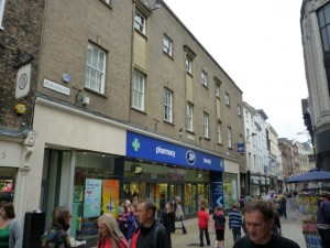Former Woolworths (now Boots), York (17 Jul 2010). Photograph by Graham Soult