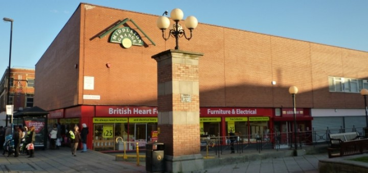 British Heart Foundation store, Hartlepool (16 Nov 2010). Photograph by Graham Soult