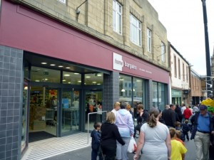 Former Woolworths (now Home Bargains), Berwick-upon-Tweed (14 Aug 2010). Photograph by Graham Soult