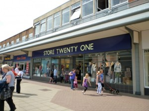 Store Twenty One, in the Viking Centre's Bede Precinct (24 Jul 2010). Photograph by Graham Soult