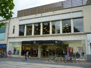 Original Woolworths location (now Bhs), Leicester (24 Aug 2010). Photograph by Graham Soult