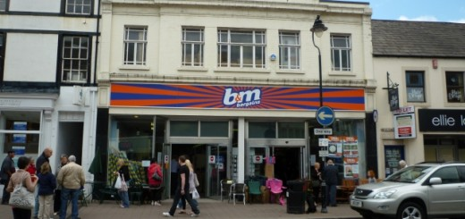 Former Woolworths (now B&M Bargains), Penrith (19 Jun 2010). Photograph by Graham Soult
