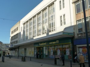 Former Woolworths, South Shields (10 Nov 2010). Photograph by Graham Soult