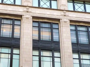 Façade of Woolworths' former Oxford Street flagship (24 Nov 2010). Photograph by Graham Soult