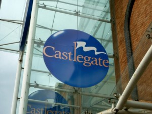 Castlegate Shopping Centre, Stockton (28 Jun 2010). Photograph by Graham Soult