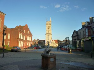 Church Square, Hartlepool (16 Nov 2010). Photograph by Graham Soult