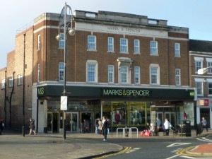 Marks & Spencer in Stockton (16 Nov 2010). Photograph by Graham Soult