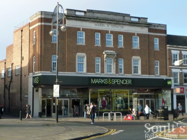 Marks & Spencer in Stockton (16 Nov 2010). Photograph by Graham Soult