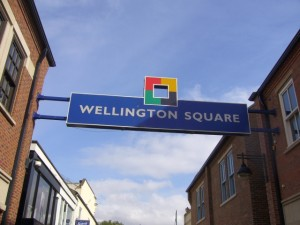 Wellington Square, Stockton (17 Sep 2009). Photograph by Graham Soult