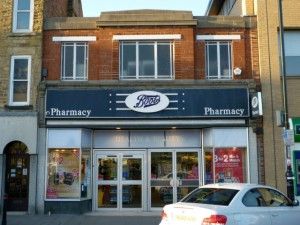 Former Woolworths (now Boots), Crook (6 Nov 2010). Photograph by Graham Soult
