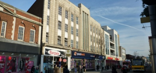 Former Woolworths (now Poundworld), West Ealing (24 Nov 2010). Photograph by Graham Soult