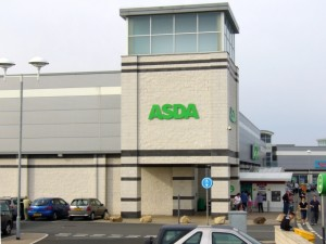 Existing Asda in Seaham. Photograph by Graham Soult
