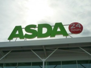 Asda store. Photograph by Graham Soult