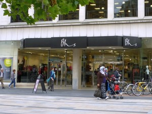 BHS, Leicester (24 Aug 2010). Photograph by Graham Soult