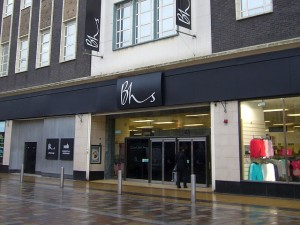 BHS, Middlesbrough (24 Feb 2010). Photograph by Graham Soult