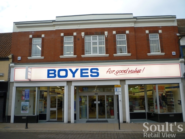 Boyes, Bishop Auckland (24 Jan 2011). Photograph by Graham Soult