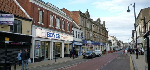 Boyes, Newgate Street, Bishop Auckland (24 Jan 2011). Photograph by Graham Soult