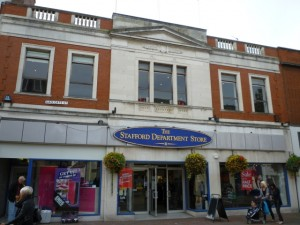 Co-op department store, Stafford (30 Sep 2010). Photograph by Graham Soult