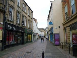 Fore Street, Hexham (1 Jan 2011). Photograph by Graham Soult