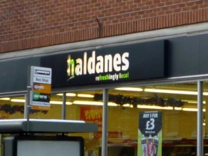 Haldanes store. Photograph by Graham Soult