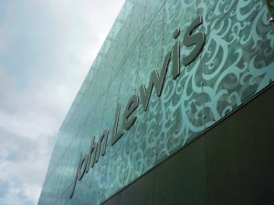 John Lewis Leicester. Photograph by Graham Soult