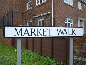 Market Walk in Jarrow (12 Jan 2011). Photograph by Graham Soult