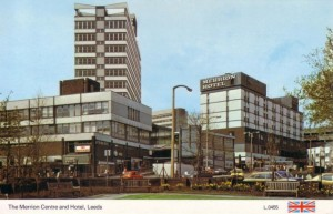 1970s postcard of Merrion Centre