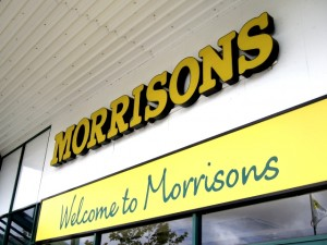 Morrisons store. Photograph by Graham Soult