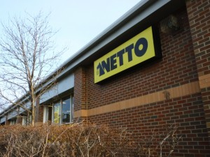 The store in its Netto days... (24 Jan 2011). Photograph by Graham Soult