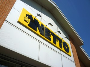 Netto store in Gateshead. Photograph by Graham Soult