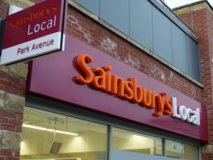 Sainsburys Local store. Photograph by Graham Soult