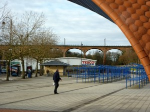 Tesco, Chester-le-Street (24 Jan 2011). Photograph by Graham Soult