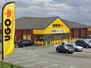 Artist's impression of Hartlepool UGO store