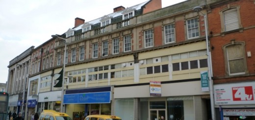 Former Woolworths, Victoria Street, Derby (23 Dec 2010). Photograph by Graham Soult