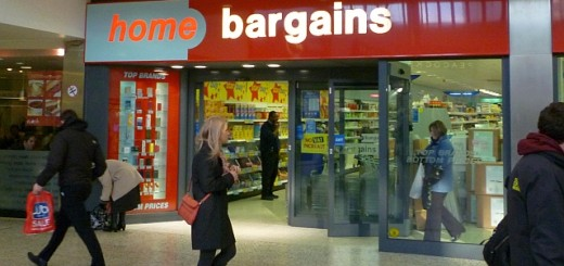 Former Woolworths (now Home Bargains), Merrion Centre, Leeds (21 Jan 2011). Photograph by Graham Soult