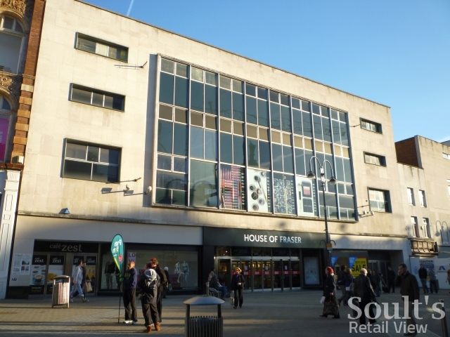 Woolies spotting in leeds soult 39 s retail view for Quality classic house of fraser