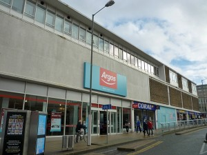 Argos, Gateshead, with new logo (14 Feb 2011). Photograph by Graham Soult