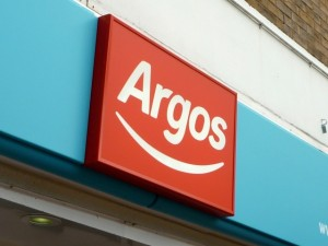 New Argos logo, Nuneaton (24 Aug 2010). Photograph by Graham Soult