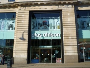 Clas Ohlson, Leeds (21 Jan 2011). Photograph by Graham Soult