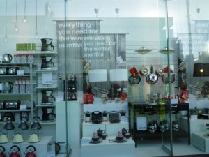 Window display at Clas Ohlson, Leeds (21 Jan 2011). Photograph by Graham Soult
