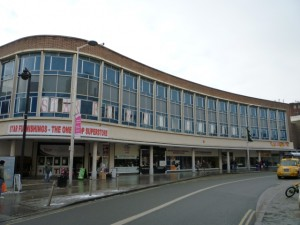 Former Debenhams, Derby (23 Dec 2010). Photograph by Graham Soult