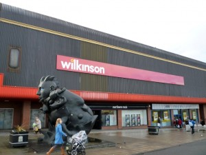West Street frontage, Wilkinson, Gateshead (15 Feb 2011). Photograph by Graham Soult