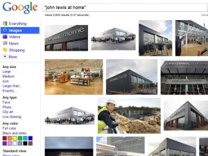 Google Image search for 'John Lewis at Home' (16 Feb 2011)