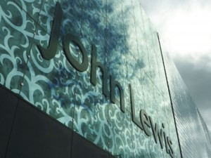 John Lewis logo. Photograph by Graham Soult