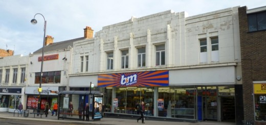 B&M Bargains (former Woolworths), Chester-le-Street (24 Jan 2011). Photograph by Graham Soult