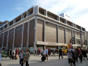 Former BHS, Northumberland Street, Newcastle (14 Mar 2011). Photograph by Graham Soult