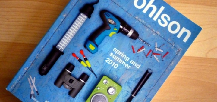 Clas Ohlson catalogue. Photograph by Graham Soult