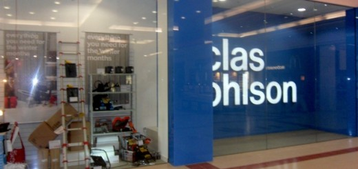 Clas Ohlson, Merry Hill (20 Feb 2011). Photograph by Martin Jarvis